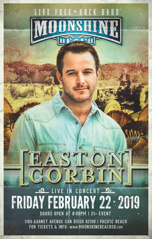 Easton Corbin LIVE at Moonshine Beach - Moonshine Beach