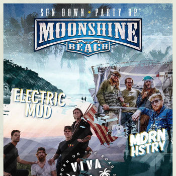 Electric Mud and MDRN HSTRY LIVE in Concert at Moonshine Beach