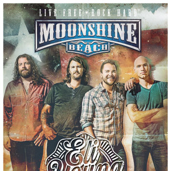 Eli Young Band Live in Concert at Moonshine Beach