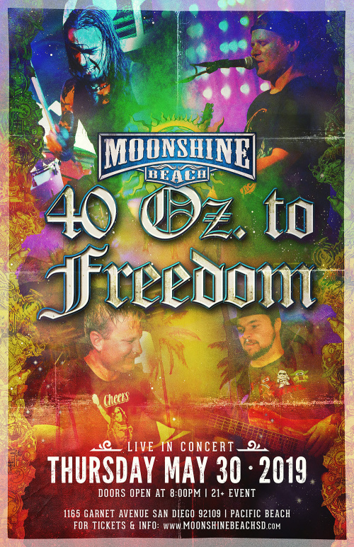 40 Oz. of Freedom Live at Moonshine Beach - Moonshine Beach