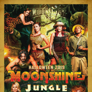 MOONSHINE JUNGLE - HALLOWEEN 2019, Saturday, October 26th, 2019