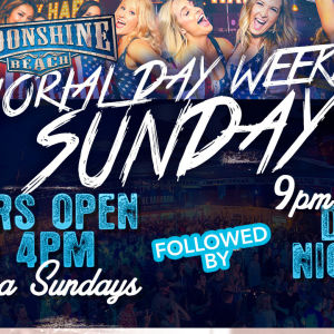 MDW: Salsa Sundays and DJ Nicky Z at Moonshine Beach, Sunday, May 26th, 2019
