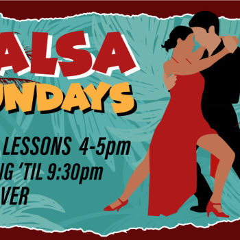 Salsa Sundays at Moonshine Beach