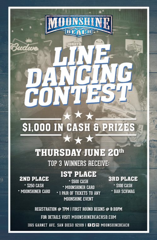 Line Dancing Contest at Moonshine Beach - Moonshine Beach