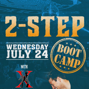 Country Two-Step Bootcamp with Country Dance X at Moonshine Beach, Wednesday, July 24th, 2019