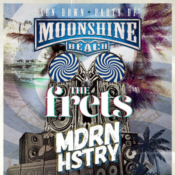 The Frets and MDRN HSTRY Live at Moonshine Beach
