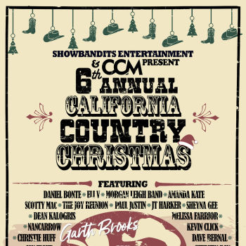 6th Annual California Country Christmas at Moonshine Beach