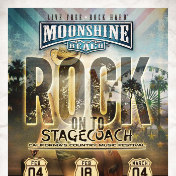 Stagecoach Giveaway at Moonshine Beach
