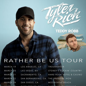 TYLER RICH WITH TEDDY ROBB LIVE AT MOONSHINE BEACH, Tuesday, March 24th, 2020