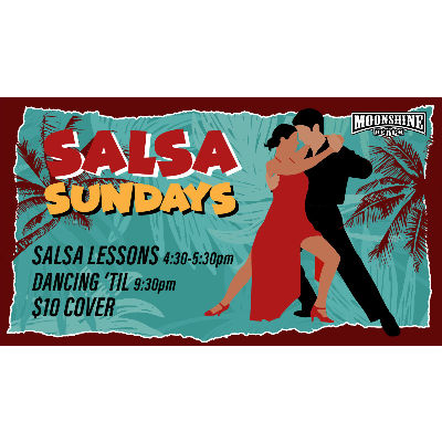 Salsa & Bachata Sundays at Moonshine Beach, Sunday, February 23rd, 2020