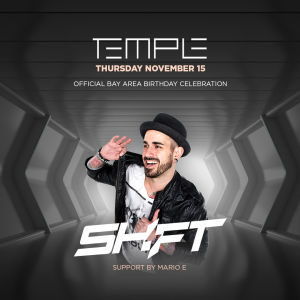 Temple Thursdays ft DJ Shift