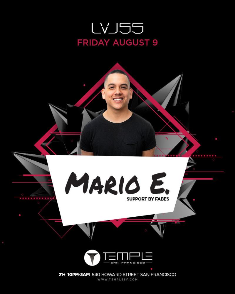 Mario E  | Temple Nightclub