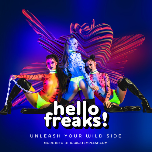 Hello Freaks - Temple Nightclub