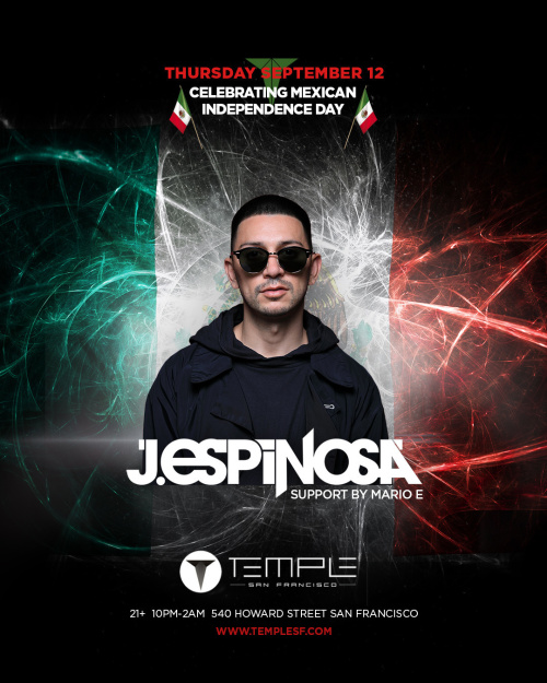 J Espinosa - Temple Nightclub