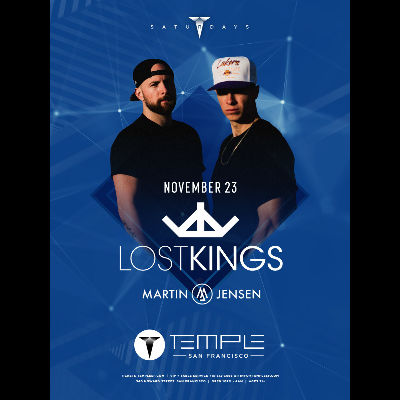 Lost Kings | Los Angeles Tour 2019, Saturday, November 23rd, 2019