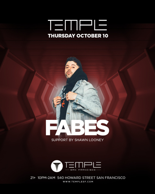 Temple Thursday feat Fabes - Temple Nightclub