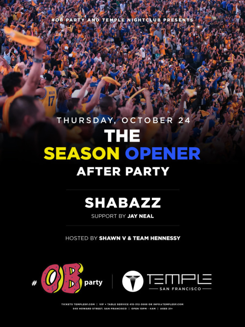 Season Opener After Party - Temple Nightclub