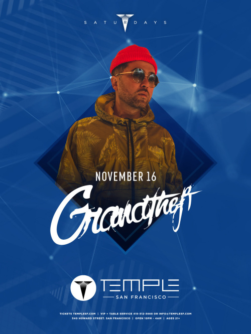 Grandtheft - Temple Nightclub