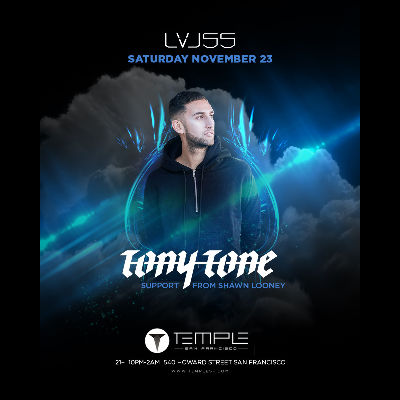 DJ Tony Tone at LVL55, Saturday, November 23rd, 2019
