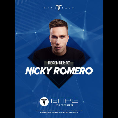 Nicky Romero, Saturday, December 7th, 2019
