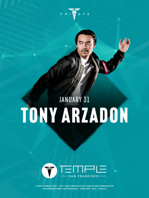 Tony Arzadon - Temple Nightclub