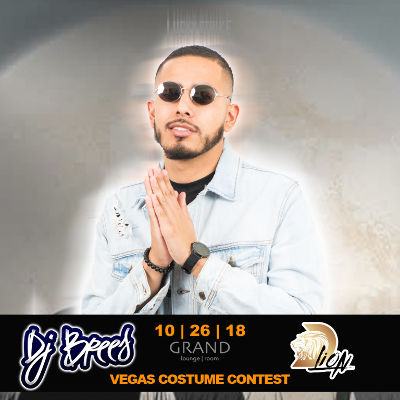 COSTUME CONTEST!!! WIN A TRIP TO VEGAS!, Friday, October 26th, 2018