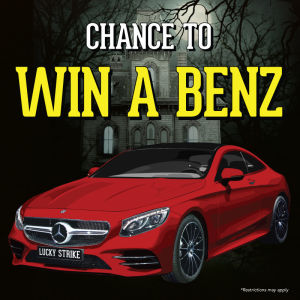 COSTUME CONTEST!!! CHANCE TO WIN A MERCEDES!, Saturday, October 27th, 2018