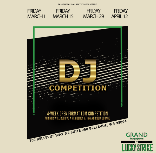 GRAND ROOM: EDM DJ COMPETITION hosted by Bass