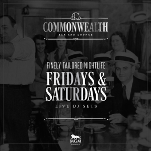 Commonwealth Fridays' and Saturdays', Friday, February 15th, 2019