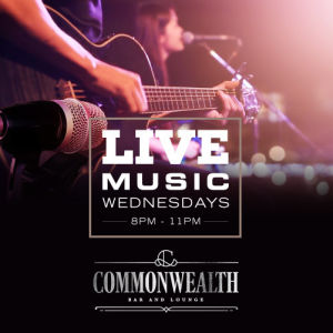 COMMONWEALTH: LIVE MUSIC WEDNESDAYS, Wednesday, February 12th, 2020