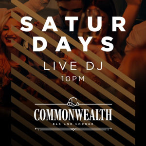 COMMONWEALTH SATURDAYS, Saturday, March 21st, 2020