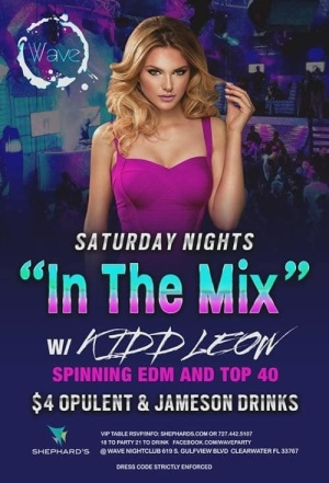 In The Mix Saturdays, Saturday, February 23rd, 2019