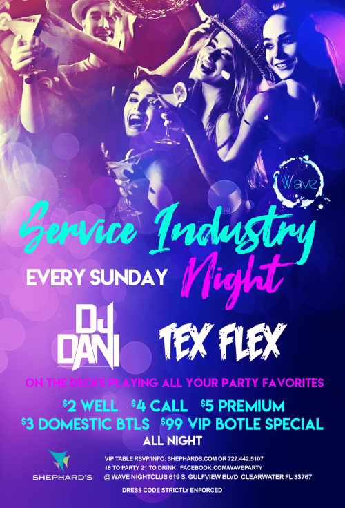 SIN Sundays - Wave Nightclub
