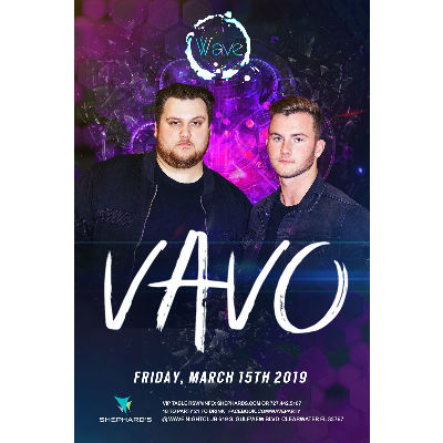 Vavo at Elevate Fridays, Friday, March 15th, 2019