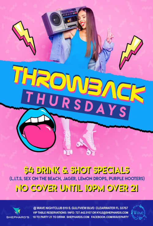 Throwback Thursdays - Wave Nightclub