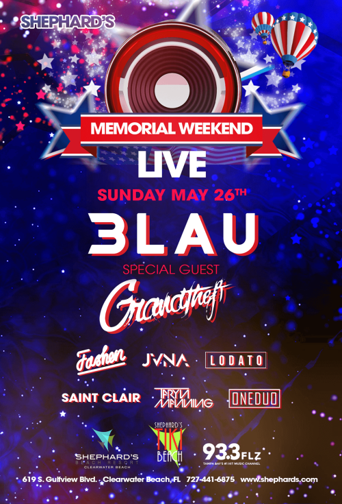 3LAU, Grandtheft, Lodato, Taryn Manning, JVNA, Saint Clair, Fashen at Shephard's Memorial Day Weekend Party 2019 - Wave Nightclub