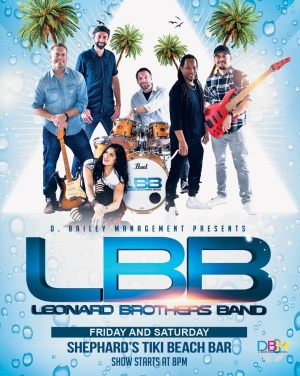 The Leonard Brothers Band, Friday, June 28th, 2019