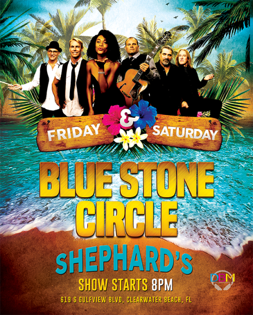 Bluestone Circle - Tiki Beach