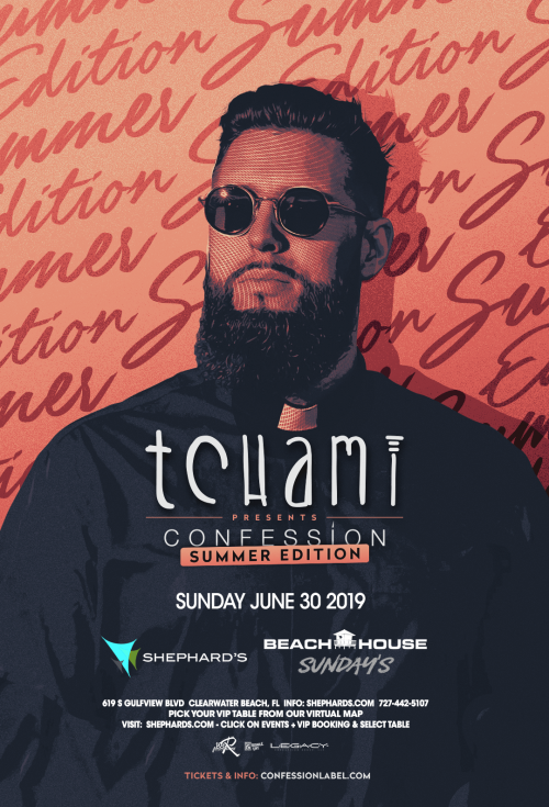 Tchami at Beach House Sundays - Tiki Beach