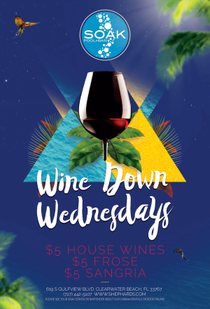 Wine Down Wednesdays, Wednesday, July 1st, 2020