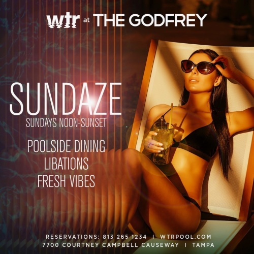 Pool Party Sundays - WTR at The Godfrey