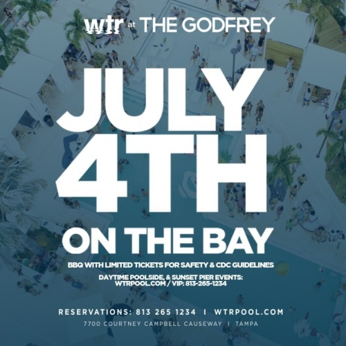 July 4th Pool Party BBQ - WTR at The Godfrey