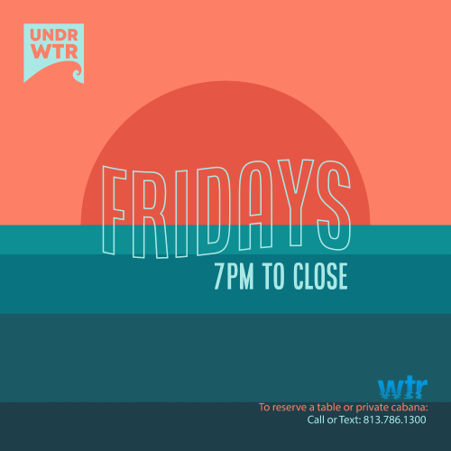 undr:wtr Fridays - WTR at The Godfrey