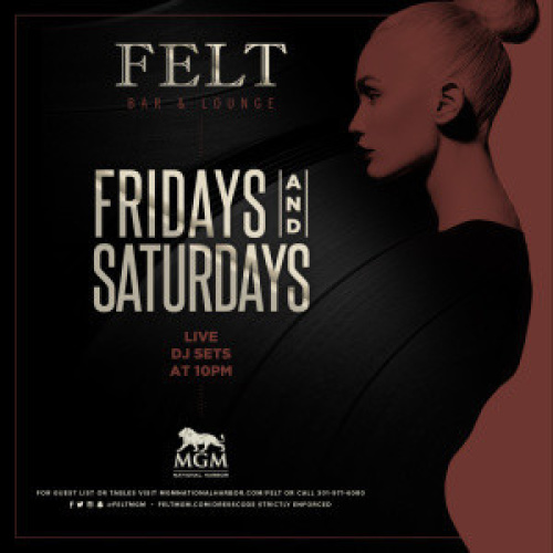 Felt Saturdays - FELT Bar & Lounge