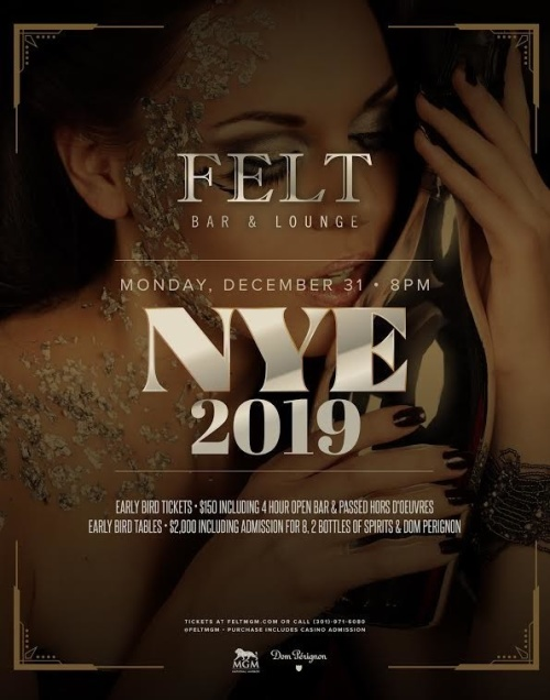 NEW YEARS EVE at FELT - FELT Bar & Lounge