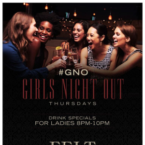 Girls Night Out, Thursday, May 9th, 2019