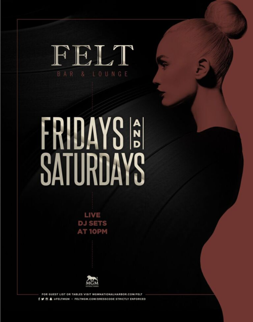 Felt Fridays and Saturdays - FELT Bar & Lounge