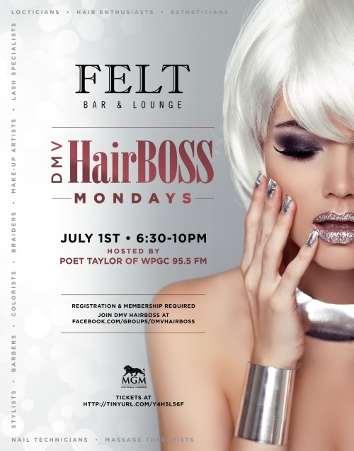 DMV HairBOSS Mondays - FELT Bar & Lounge
