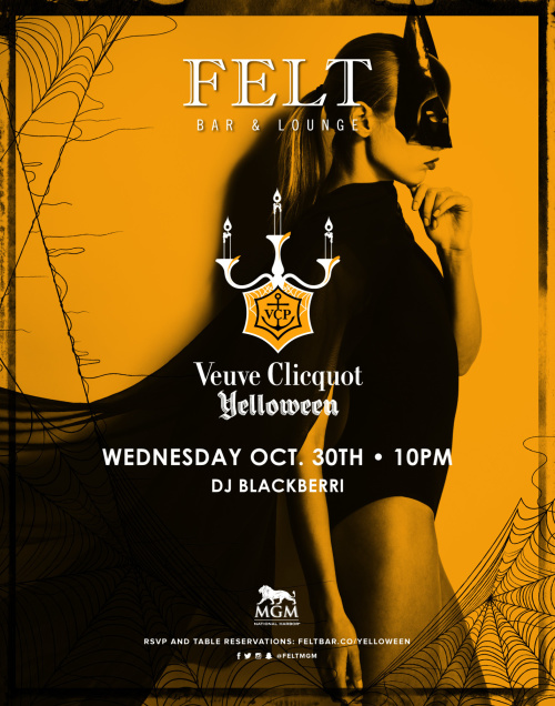 Yelloween: A Halloween Soiree - FELT Bar & Lounge