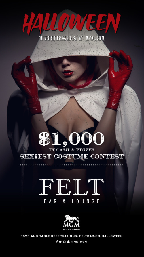 Halloween at FELT - FELT Bar & Lounge